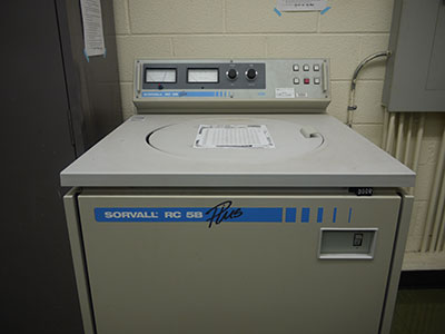 Superspeed Centrifuge, Sorvall RC 5B Plus