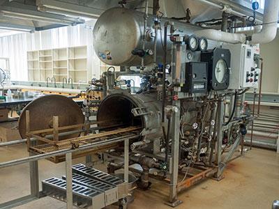 Retort (Laboratory Food Sterilizer)